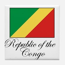 Republic of the Congo - Flag Tile Coaster