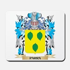 Parra Coat of Arms - Family Crest Mousepad