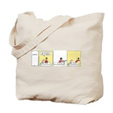 Cute Rhymes orange Tote Bag
