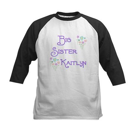 Big Sister Kaitlyn Kids Baseball Jersey