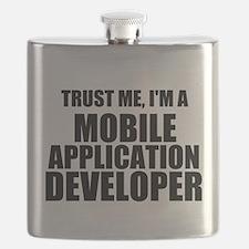 Trust Me, I'm A Mobile Application Developer Flask
