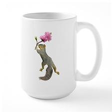 Squirrel Peach Blossom Mug