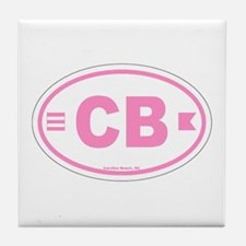 Carolina Beach Tile Coaster