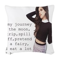 Camila Cabello 97 Woven Throw Pillow