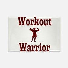 Workout Warrior Magnets