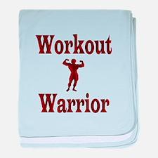Workout Warrior baby blanket