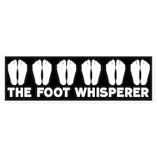 The Foot Whisperer Bumper Bumper Sticker