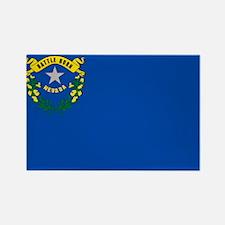 Funny Nevada flag Rectangle Magnet