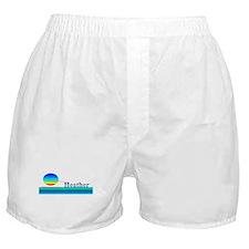 Heather Boxer Shorts