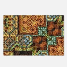 Patchwork Postcards (Package of 8)