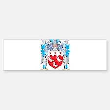 Pattison Coat of Arms - Family Cres Bumper Bumper Bumper Sticker