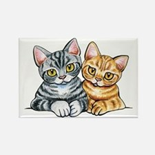 2 American Shorthair Magnets