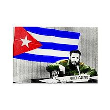 President Fidel Alejandro Castro Magnets