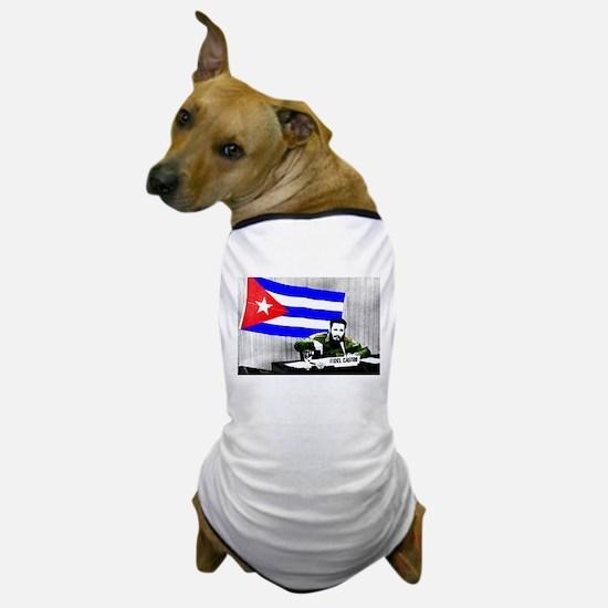 President Fidel Alejandro Castro Ruz C Dog T-Shirt