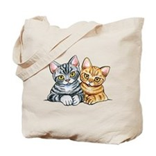 2 American Shorthair Tote Bag