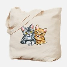 2 American Shorthair Tote Bag