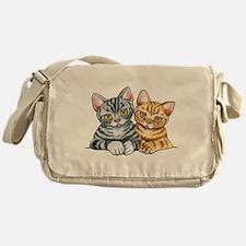 2 American Shorthair Messenger Bag