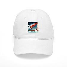 Sputnik Soviet Union Russian Space Rocket Laun Cap
