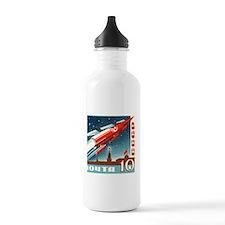 Sputnik Soviet Union R Water Bottle