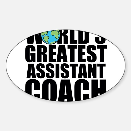 World's Greatest Assistant Coach Decal