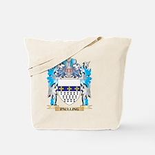 Paulling Coat of Arms - Family Crest Tote Bag