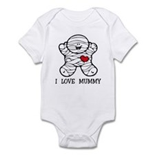 I Love Mummy Infant Bodysuit