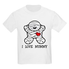 I Love Mummy T-Shirt