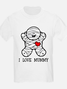 I Love Mummy T-Shirt