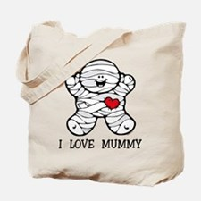 I Love Mummy Tote Bag