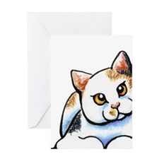 Calico Cutie Greeting Cards