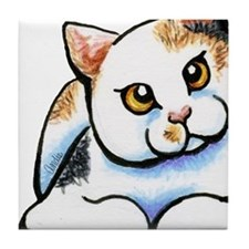 Calico Cutie Tile Coaster