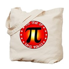 Year of Pi  3/14/15 9:26:53  Tote Bag