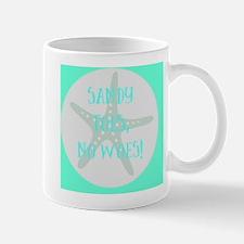 Sandy Toes, No Mug