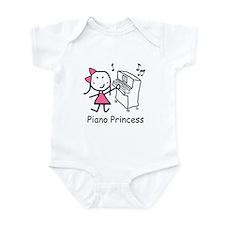 Piano - Princess Infant Bodysuit