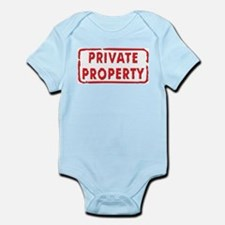 Private Property Infant Creeper