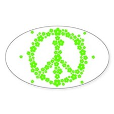 Flower Hippie Peace 60's Sign Psychedelic Decal