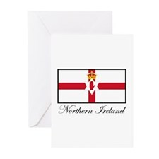 Northern Ireland - Flag Greeting Cards (Package of