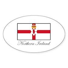 Northern Ireland - Flag Oval Decal