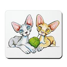 Double Devons Mousepad