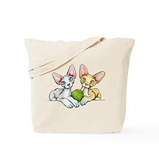 Double Devons Tote Bag