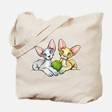 Double Devons Tote Bag
