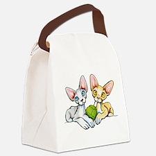 Double Devons Canvas Lunch Bag
