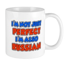 Not Just Perfect Russian Mugs