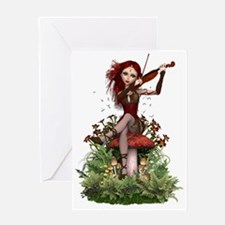 Coral Fairy ~ Summer Melody Greeting Cards