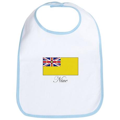 Niue - Flag Bib