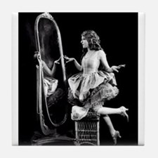 mary pickford Tile Coaster