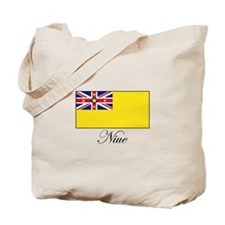 Niue - Flag Tote Bag