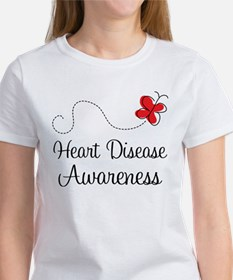Heart Disease Butterfly Women's T-Shirt