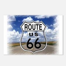 Rt. 66 Postcards (Package of 8)