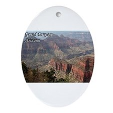 Grand Canyon, Arizona 2 (with capt Ornament (Oval)